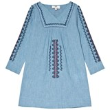 Cyrillus Blue Embroidered Tunic