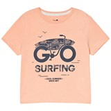 Cyrillus Orange Surf Print T-Shirt