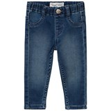 Levi's Blue Mid Wash Pull Up Jeans