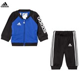 adidas Performance Blue and Black Boys Infants Tracksuit