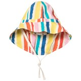 Noe & Zoe Berlin Multi Coloured Striped Sun Hat