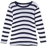 Joha Marine And White Stripe T-Shirt