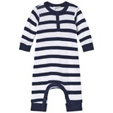 Joha Marine And White Stripe Babygrow