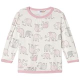 Joha Blouse w/long sleeves Elephant