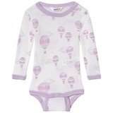 Joha Pink And White Air Balloon Long Sleeve Baby Body