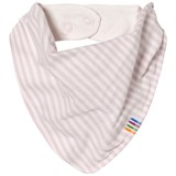 Joha Pink Mini Stripe Bib