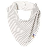 Joha Grey Mini Stripe Bib