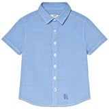 Cyrillus Blue Short Sleeve Shirt