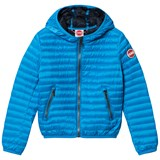 Colmar Blue Padded Lightweight Hooded  Jacket
