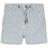 Cyrillus Blue and White Stripe Shorts