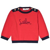 Cyrillus Red Sailor Jumper
