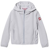 Colmar Silver Padded Lined Hooded Windbreaker