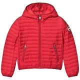 Colmar Red Padded Lightweight Hooded Jacket