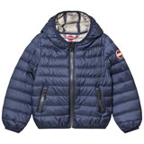 Colmar Navy Padded Lightweight Infants Hooded Jacket