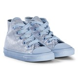 Converse Blue Chill Glitter Chuck Taylor All Star Infants Hi Tops