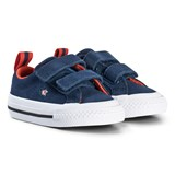 Converse Navy One Star 2V OX Infants Trainers