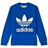 adidas Originals Blue Logo Crew Sweater