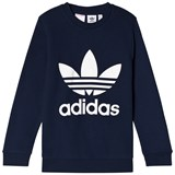 adidas Originals Navy Logo Crew Sweater