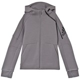 adidas Performance Grey Boys Zone Hoodie