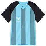 adidas Performance Grey and Blue Boys Messi Top