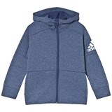 adidas Performance Navy Boys Stadium Full Zip Hoodie