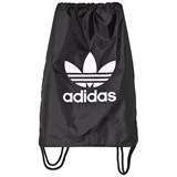 adidas Originals Black Logo Drawstring Bag