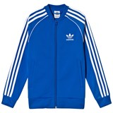 adidas Originals Blue Branded Full Zip Top