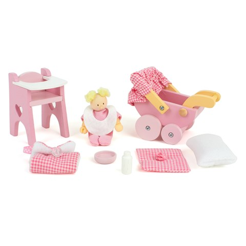 Le Toy Van Rosebud Nursery Set