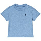 Ralph Lauren Blue Classic Tee with PP
