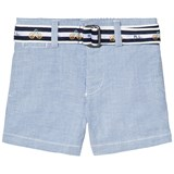 Ralph Lauren Blue Stretch Oxford Shorts