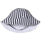 Emile et Rose Navy and White Stripe Sun Hat
