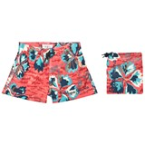 Pepe Jeans Multi Edward Skateboard Graphic Print Swim Shorts