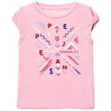 Pepe Jeans Pink Narumi Beaded Fring Back Tee