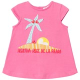 Agatha Ruiz de la Prada Pink Palm Tree Print Dress