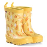 Viking Yellow Raindrop Wellies