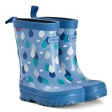Viking Blue Raindrop Wellies