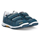 Viking Petrol Blue and Sun Yellow CASCADE GTX Trainers