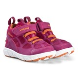 Viking Fuchsia and Orange Velcro Trainers