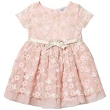 Mayoral Blush Floral Tulle Dress