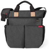 Skip Hop Soft Slate Duo Signature Diaper Bag
