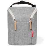 Skip Hop Grey Double Bottle Bag