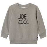 Tobias & The Bear Grey Marl Joe Cool Loopback Sweatshirt