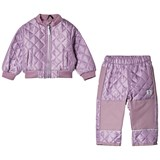 Mikk-Line Very Grape Thermo Set with Fleece