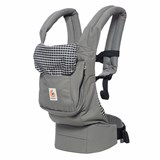 Ergobaby Steel Plaid Original Baby Carrier