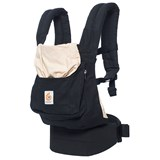 Ergobaby Black and Camel Original Baby Carrier