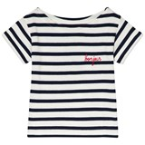 Maison Labiche White and Blue Striped