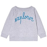 Maison Labiche Grey Explorer Jumper