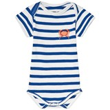 Maison Labiche White and Blue Crab Striped Body