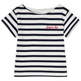 Maison Labiche EXCLUSIVE White and Navy Striped