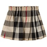Burberry Beige New Classic Check Hala Skirt